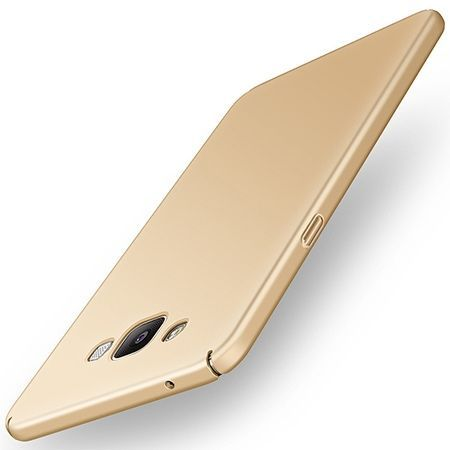 Etui na telefon Samsung Galaxy A5  -  Slim MattE - Złoty.