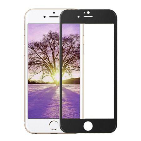 Hartowane szkło na cały ekran 3d iPhone 5 / 5s  - Czarny.
