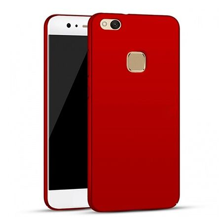Etui na telefon Huawei P10 Lite - Slim MattE - Czerwony.