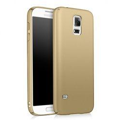 Etui na telefon Samsung Galaxy S5 Neo - Slim MattE - Złoty.