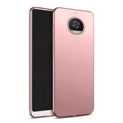 Etui na telefon Motorola Moto G5s - Slim MattE - Różowy.