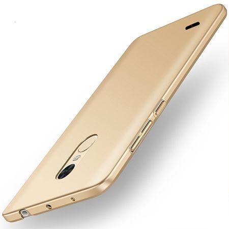 Etui na telefon LG K4 2017 - Slim MattE - Złoty.