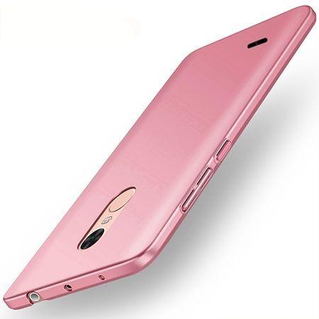 Etui na telefon LG K4 2017 - Slim MattE - Różowy.