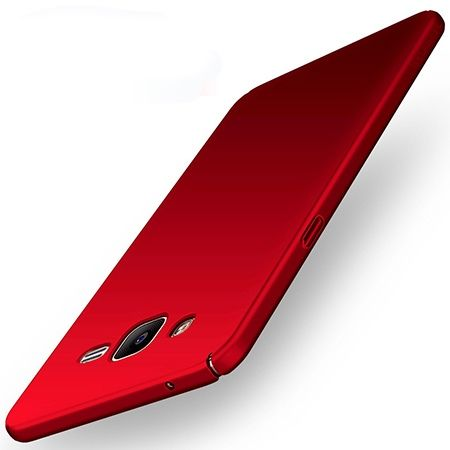 Etui na telefon Samsung Galaxy J3 2016 - Slim MattE - Czerwony.