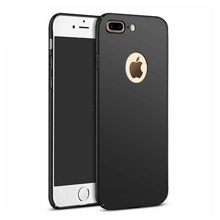 Etui na telefon iPhone 7 Plus  - Slim MattE - Czarny.