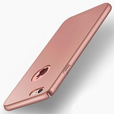 Etui na telefon iPhone 7 - Slim MattE - Różowy.