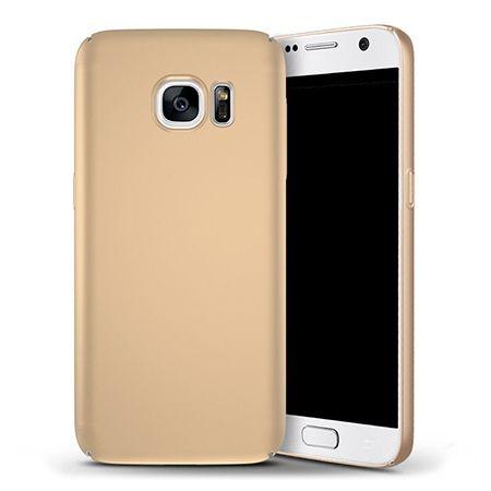 Etui na telefon Samsung Galaxy S6 - Slim MattE - Złoty.