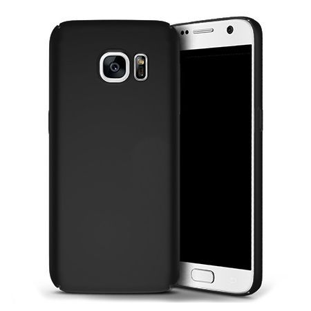 Matowe Etui na telefon Samsung Galaxy S6 - Slim MattE - Czarny.