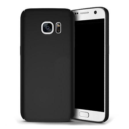 Matowe Etui na telefon Samsung Galaxy S7 - Slim MattE - Czarny.