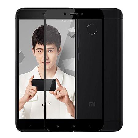Hartowane szkło na cały ekran 3d Xiaomi Redmi 4X - Czarny.