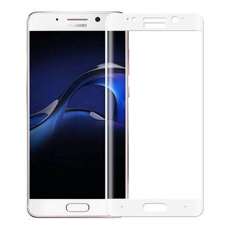 Huawei Mate 9 Pro - hartowane szkło 3D na cały ekran - Biały.