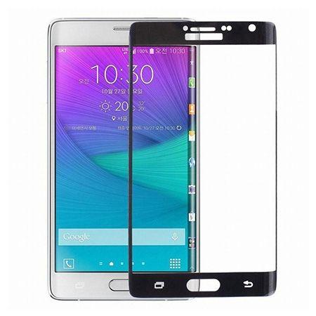 Galaxy Note 4 - hartowane szkło 3D na cały ekran - Czarny.