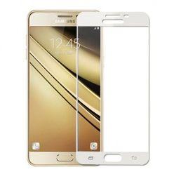Galaxy Note 4 - hartowane szkło 3D na cały ekran - Biały.