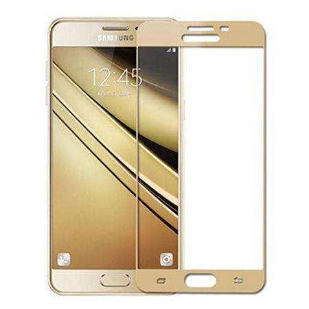 Galaxy Note 4 - hartowane szkło 3D na cały ekran - Złoty.