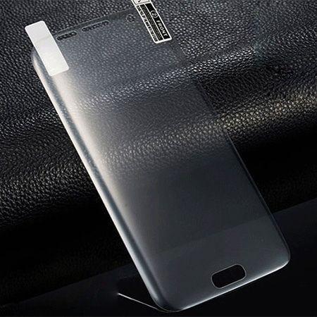 Galaxy S6 Edge Plus - hartowane szkło 3D na cały ekran - Bezbarwny.