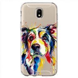 Etui na Samsung Galaxy J7 2017 - watercolor pies.