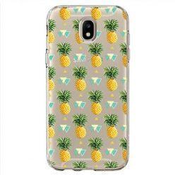 Etui na Samsung Galaxy J7 2017 - ananasowe szaleństwo.