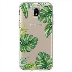 Etui na Samsung Galaxy J7 2017 - Egzotyczne roślina monstera.