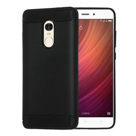Etui na Xiaomi Redmi Note 4 Pro - bumper Neo CARBON - Czarny.