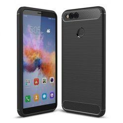 Etui na Huawei Honor 7X - bumper Neo CARBON - Czarny.