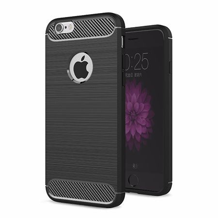 Etui na iPhone SE - bumper Neo CARBON - Czarny.