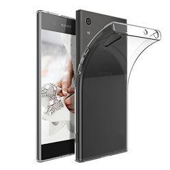 Etui na Xperia XA1 - silikonowe, przezroczyste crystal case.