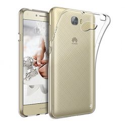Etui na Huawei Y6 II Compact - silikonowe, przezroczyste crystal case.