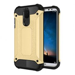 Etui na Huawei Mate 10 Lite - Pancerne - Złoty.