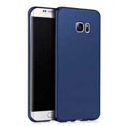 Etui na telefon Samsung Galaxy S6 Edge - Slim MattE - Granatowy.