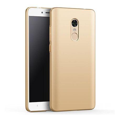 Etui na telefon Xiaomi Redmi Note 4X - Slim MattE - Złoty.
