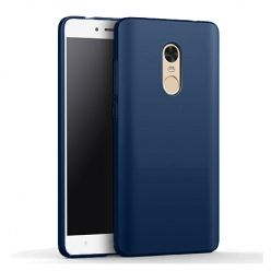 Etui na telefon Xiaomi Redmi Note 4X - Slim MattE - Granatowy.