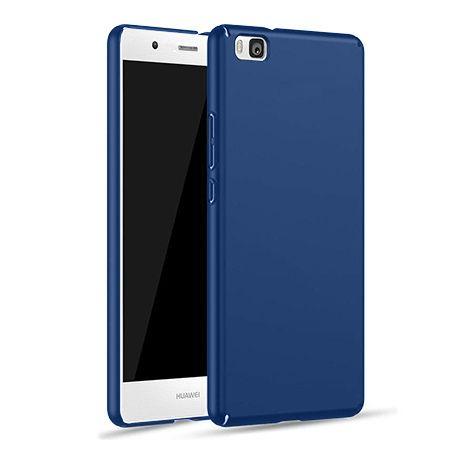 Etui na telefon Huawei P8 - Slim MattE - Granatowy.