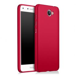 Etui na telefon Huawei Y6 II Compact - Slim MattE - Czerwony.