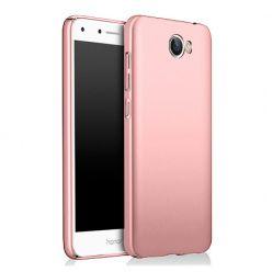 Etui na telefon Huawei Y6 II Compact - Slim MattE - Różowy.