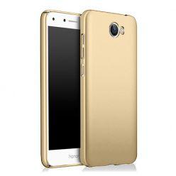 Etui na telefon Huawei Y5 II - Slim MattE - Złoty.