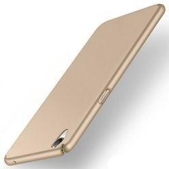 Etui na telefon Sony Xperia XA - Slim MattE - Złoty.