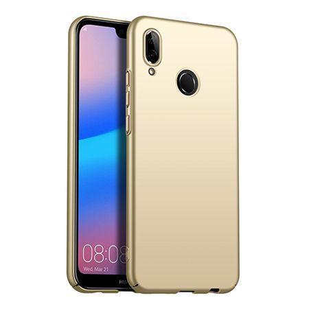Etui na telefon Huawei P20 Lite - Slim MattE - Złoty.