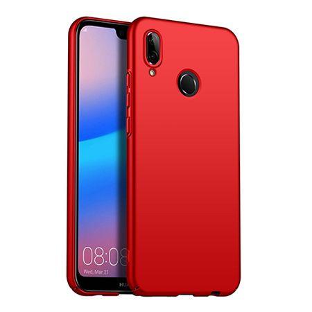 Etui na telefon Huawei P20 Lite - Slim MattE - Czerwony.