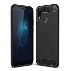 Etui na Huawei P20 Lite - bumper Neo CARBON - Czarny.