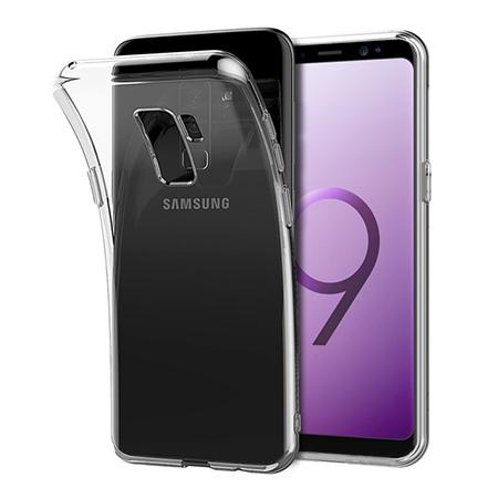Etui na Galaxy S9 Plus - silikonowe, przezroczyste crystal case.