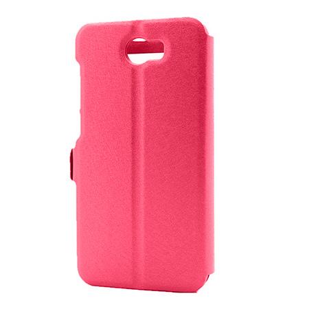 Etui na Huawei Y6 II Compact - Flip Quick View z klapką dwa okienka - Różowy.