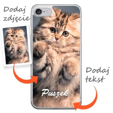 Apple iPhone 7 - zaprojektuj swoje etui z nadrukiem.