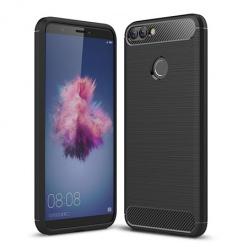 Etui na Huawei P Smart - bumper Neo CARBON - Czarny.