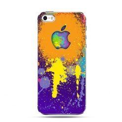 Etui na telefon splash logo Apple