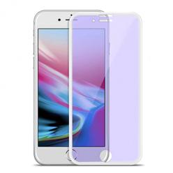 HOCO hartowane szkło na cały ekran 3D Anti-Blue Ray - iPhone 7 Plus - Biały.