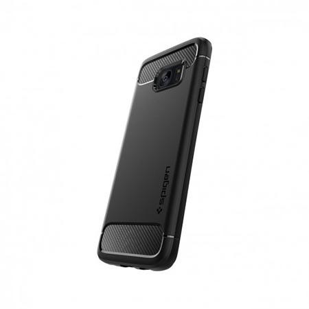 Etui na Samsung Galaxy S7 Edge  Spigen Rugged Armor - Czarny