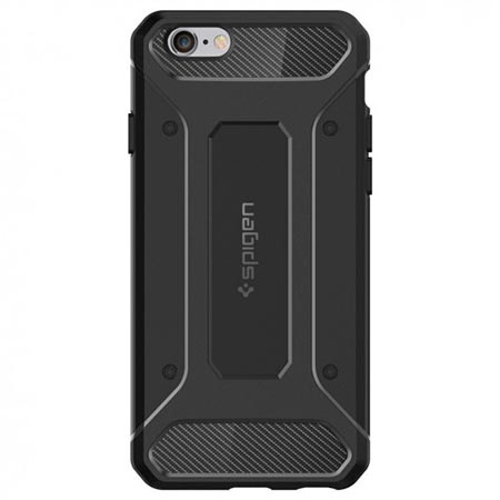 Etui na iPhone 6 Plus Spigen Rugged Armor - Czarny