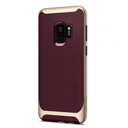 Etui Spigen na Samsung Galaxy S9 Neo Hybrid - Złoty