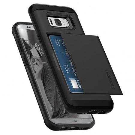 Etui Spigen na Samsung Galaxy S8 Plus - Slim Armor Czarny