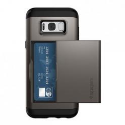 Etui Spigen na Samsung Galaxy S8 Plus - Slim Armor Grafitowy